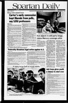 Spartan Daily, November 7, 1980 by San Jose State University, School of Journalism and Mass Communications