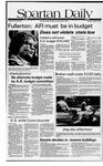 Spartan Daily, April 30, 1981