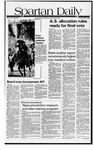 Spartan Daily, May 5, 1981 by San Jose State University, School of Journalism and Mass Communications