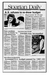 Spartan Daily, May 8, 1981 by San Jose State University, School of Journalism and Mass Communications
