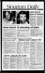 Spartan Daily, May 14, 1981 by San Jose State University, School of Journalism and Mass Communications