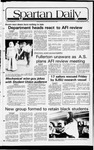 Spartan Daily, September 15, 1981 by San Jose State University, School of Journalism and Mass Communications