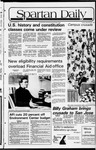 Spartan Daily, September 29, 1981 by San Jose State University, School of Journalism and Mass Communications