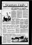 Spartan Daily, October 24, 1981 by San Jose State University, School of Journalism and Mass Communications