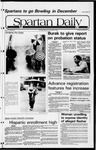 Spartan Daily, November 16, 1981 by San Jose State University, School of Journalism and Mass Communications