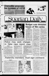 Spartan Daily, November 19, 1981 by San Jose State University, School of Journalism and Mass Communications
