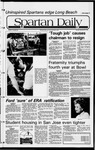 Spartan Daily, November 23, 1981 by San Jose State University, School of Journalism and Mass Communications