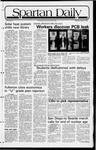 Spartan Daily, February 3, 1982 by San Jose State University, School of Journalism and Mass Communications