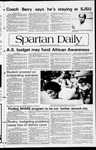 Spartan Daily, March 9, 1982