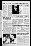 Spartan Daily, March 12, 1982