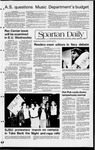 Spartan Daily, March 15, 1982 by San Jose State University, School of Journalism and Mass Communications