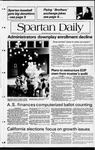 Spartan Daily, April 14, 1982 by San Jose State University, School of Journalism and Mass Communications