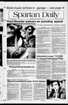 Spartan Daily, April 26, 1982 by San Jose State University, School of Journalism and Mass Communications