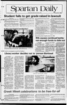 Spartan Daily, April 27, 1982 by San Jose State University, School of Journalism and Mass Communications