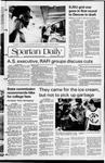 Spartan Daily, April 28, 1982 by San Jose State University, School of Journalism and Mass Communications
