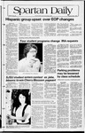 Spartan Daily, May 6, 1982 by San Jose State University, School of Journalism and Mass Communications