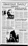 Spartan Daily, August 30, 1982 by San Jose State University, School of Journalism and Mass Communications