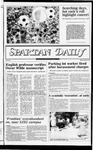 Spartan Daily, September 8, 1982 by San Jose State University, School of Journalism and Mass Communications