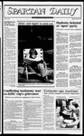 Spartan Daily, September 29, 1982 by San Jose State University, School of Journalism and Mass Communications