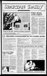 Spartan Daily, October 5, 1982 by San Jose State University, School of Journalism and Mass Communications