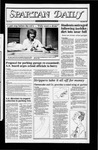 Spartan Daily, October 8, 1982 by San Jose State University, School of Journalism and Mass Communications
