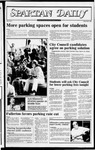 Spartan Daily, October 12, 1982 by San Jose State University, School of Journalism and Mass Communications