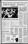 Spartan Daily, October 13, 1982 by San Jose State University, School of Journalism and Mass Communications