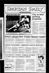 Spartan Daily, October 18, 1982 by San Jose State University, School of Journalism and Mass Communications