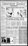Spartan Daily, October 26, 1982 by San Jose State University, School of Journalism and Mass Communications