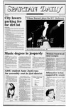Spartan Daily, October 27, 1982 by San Jose State University, School of Journalism and Mass Communications