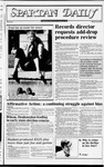 Spartan Daily, November 3, 1982 by San Jose State University, School of Journalism and Mass Communications