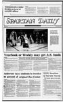 Spartan Daily, November 4, 1982 by San Jose State University, School of Journalism and Mass Communications