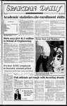 Spartan Daily, November 9, 1982 by San Jose State University, School of Journalism and Mass Communications