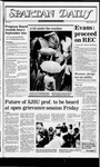 Spartan Daily, November 10, 1982 by San Jose State University, School of Journalism and Mass Communications