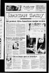 Spartan Daily, November 12, 1982 by San Jose State University, School of Journalism and Mass Communications