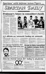 Spartan Daily, November 15, 1982 by San Jose State University, School of Journalism and Mass Communications