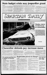 Spartan Daily, December 1, 1982 by San Jose State University, School of Journalism and Mass Communications