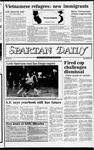 Spartan Daily, December 7, 1982 by San Jose State University, School of Journalism and Mass Communications