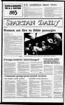 Spartan Daily, March 8, 1983