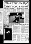 Spartan Daily, March 18, 1983 by San Jose State University, School of Journalism and Mass Communications