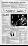 Spartan Daily, April 6, 1983 by San Jose State University, School of Journalism and Mass Communications