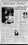 Spartan Daily, April 18, 1983 by San Jose State University, School of Journalism and Mass Communications