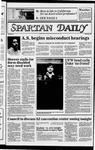 Spartan Daily, May 3, 1983 by San Jose State University, School of Journalism and Mass Communications