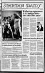 Spartan Daily, May 10, 1983 by San Jose State University, School of Journalism and Mass Communications