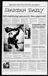 Spartan Daily, October 3, 1983 by San Jose State University, School of Journalism and Mass Communications