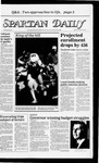 Spartan Daily, October 10, 1983 by San Jose State University, School of Journalism and Mass Communications