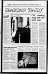 Spartan Daily, October 12, 1983 by San Jose State University, School of Journalism and Mass Communications