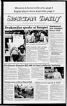 Spartan Daily, October 13, 1983 by San Jose State University, School of Journalism and Mass Communications