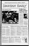 Spartan Daily, October 24, 1983 by San Jose State University, School of Journalism and Mass Communications