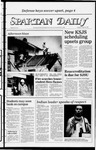 Spartan Daily, October 25, 1983 by San Jose State University, School of Journalism and Mass Communications